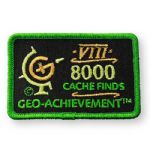 8000 Finds Geo-Achievement Patch